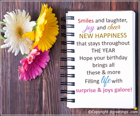 Birthday Wishes For Cards Message 75th Messages Lovely