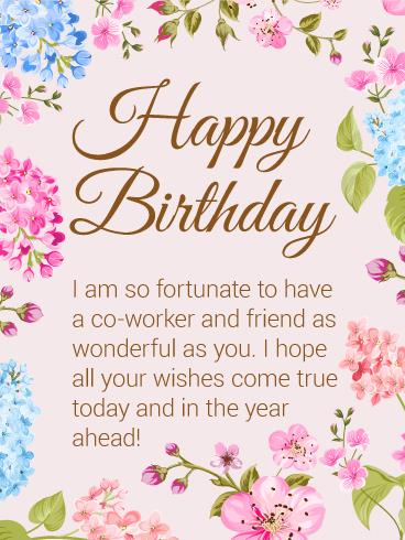 birthday wishes for coworker card ; b_day_fco19-863a32ccde9a35ea6284756a08ac7bfa