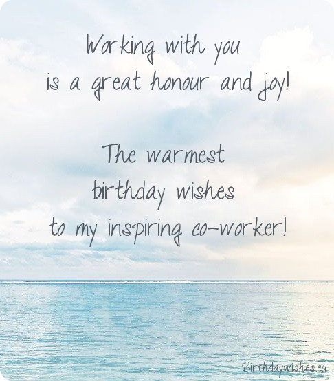 birthday wishes for coworker card ; birthday-wishes-for-colleague-male