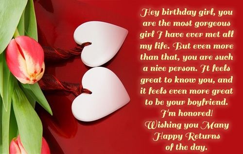 birthday wishes for girlfriend greeting card ; Birthday-Wishes-for-Girlfriend