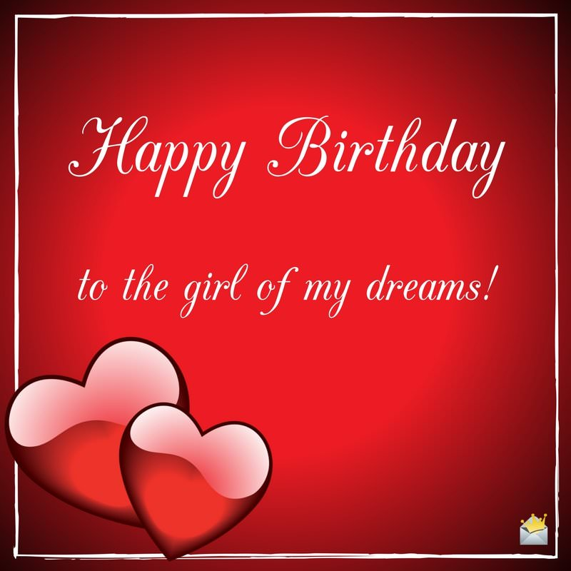 birthday wishes for girlfriend greeting card ; Romantic-birthday-wish-for-girlfriend