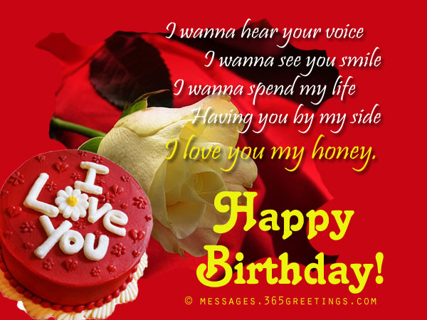 birthday wishes for girlfriend greeting card ; ac63d0f2bbb42360135cf3b120d15679