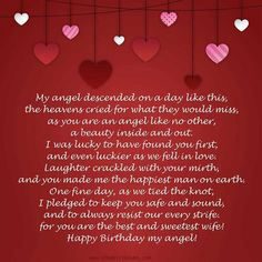 birthday wishes for her poems ; 7f47141cf4836cb62daabc09c47ebd45--birthday-poems-birthday-messages