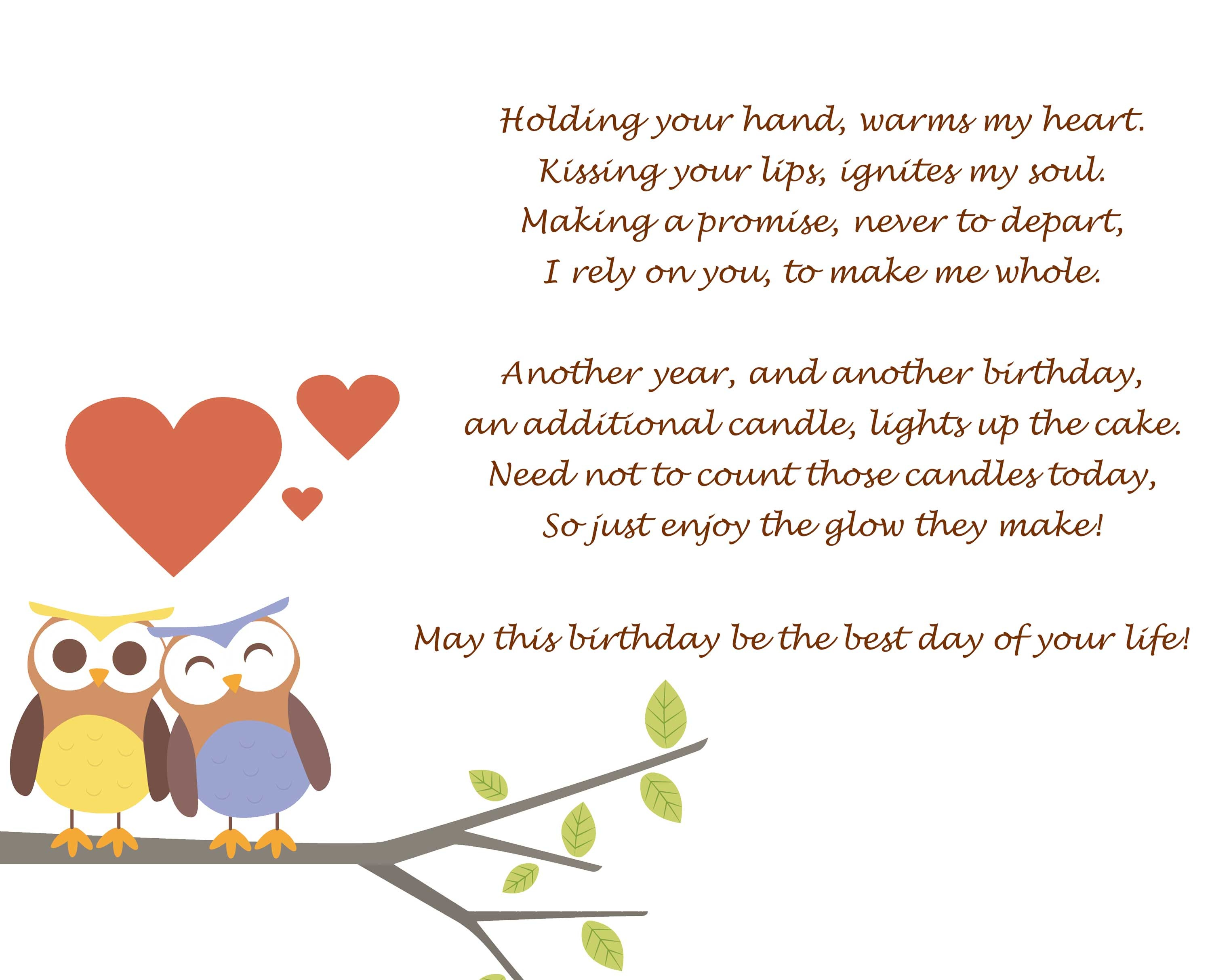 birthday wishes for her poems ; 904e04b3ef93e2761151268301bd315a