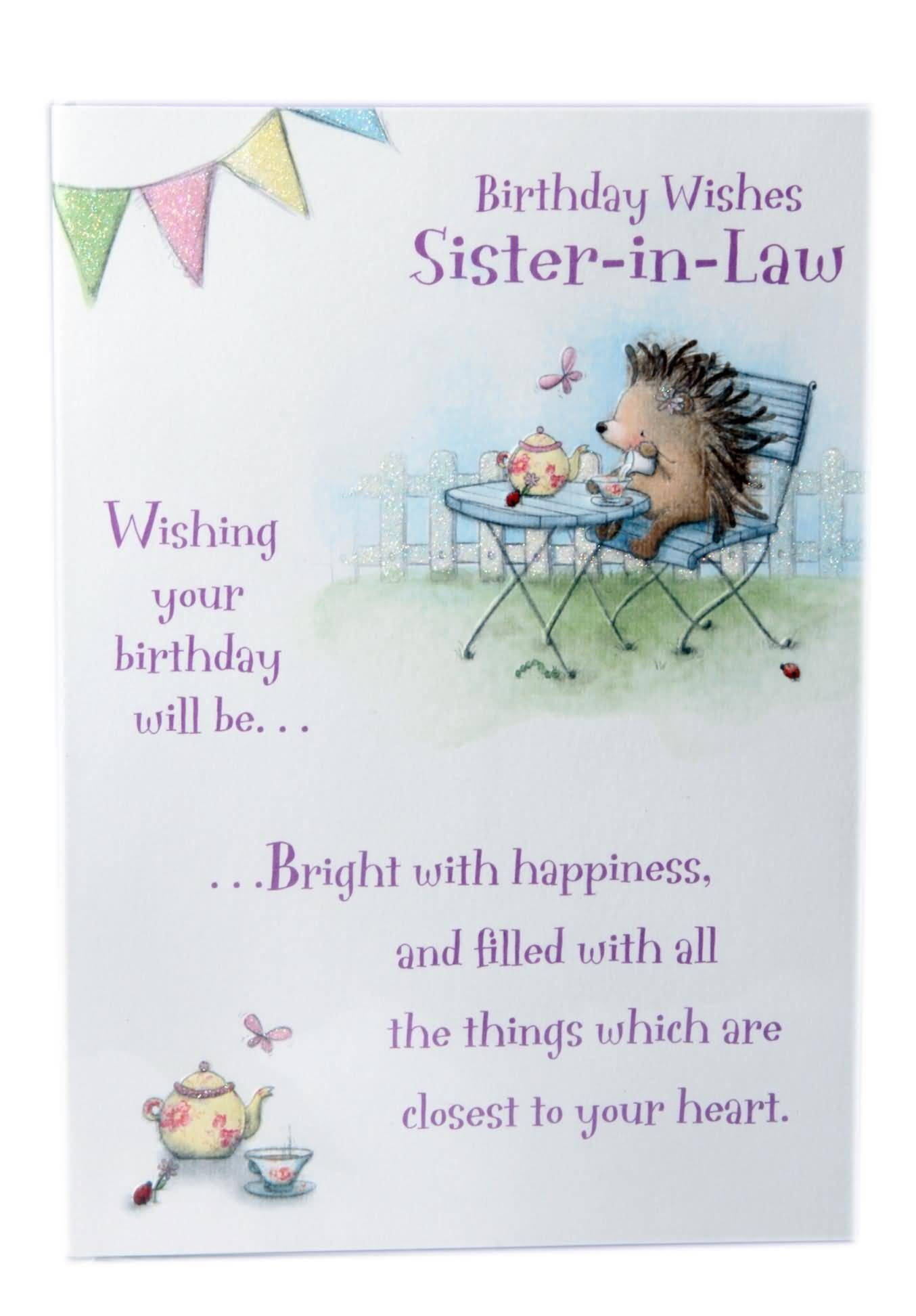 birthday wishes for sister in law poem ; 9d96743a9eee27c942320511812a9ec5