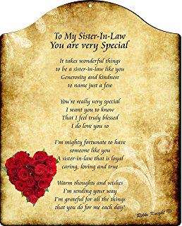 birthday wishes for sister in law poem ; A1Tzm0Zp4aL