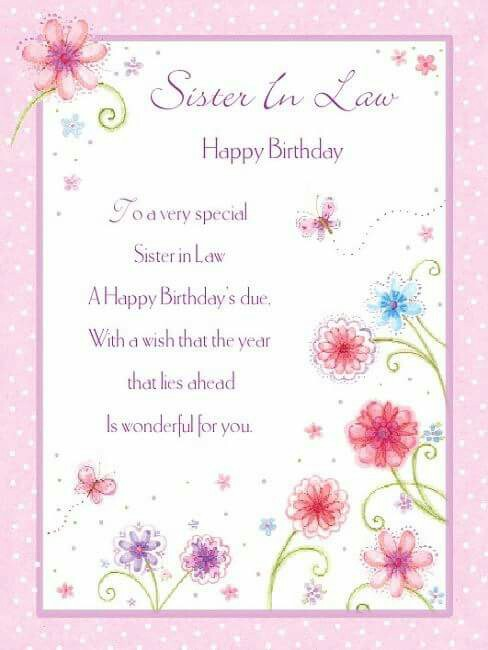 birthday wishes for sister in law poem ; c4ddfd1b55d39beef12f572b35a3cf81