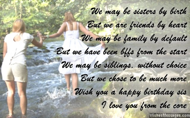birthday wishes for sister poem ; Beautiful-poem-birthday-wishes-for-sister