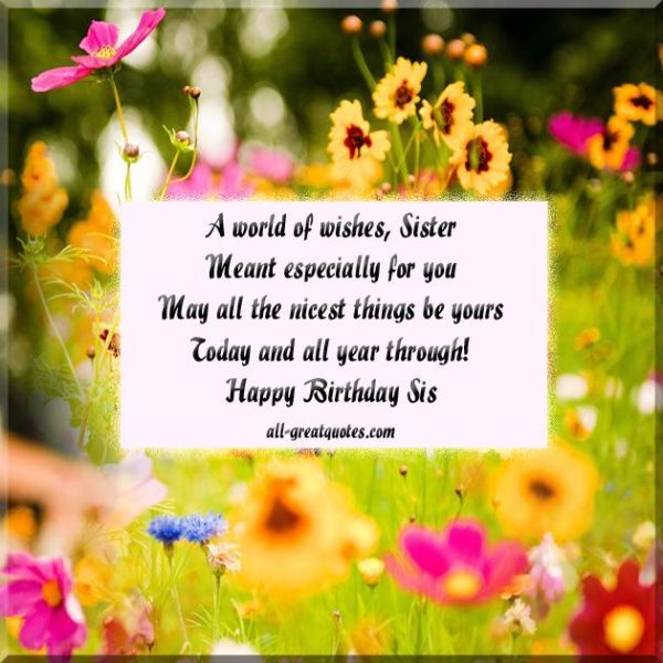 birthday wishes for sister poem ; Birthday-Wishes-Poems-for-Sister-Image