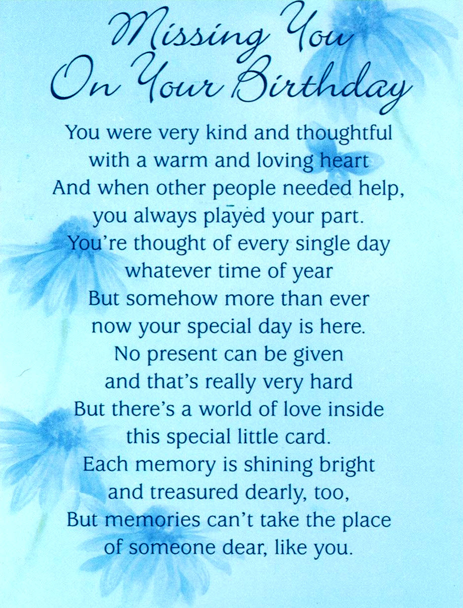 birthday wishes for someone in heaven poem ; 6d4b1f61bef41d4d6729c41f58f1c68a
