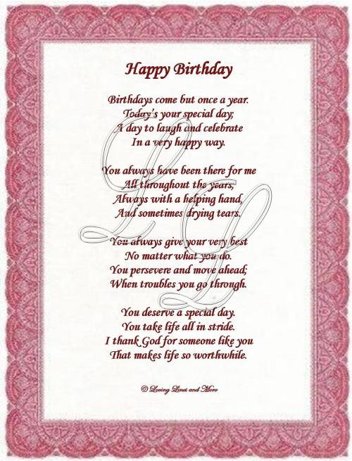 birthday wishes for someone special poem ; a027f8fcc4c0f4039c224a9f770279a9
