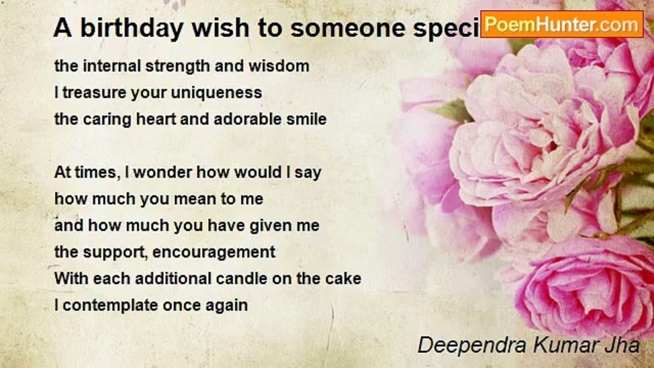 birthday wishes for someone special poem ; x720-GI0