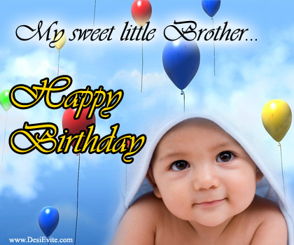 birthday wishes for younger brother card ; Birthday-wishes-card-for-little-brother