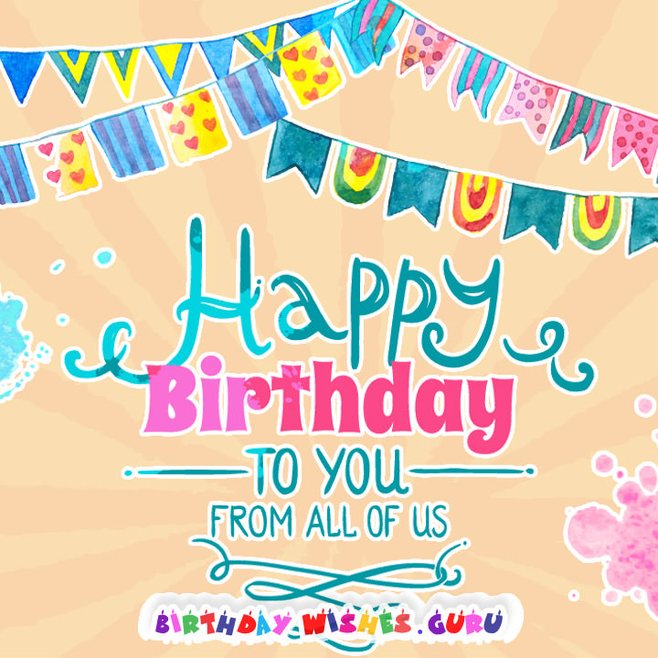 birthday wishes from all of us card ; ccca4fb4dcf36cc9786b6287e0f6f190