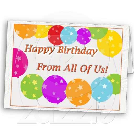 birthday wishes from all of us card ; e7c728db695467deea7741efed02d375