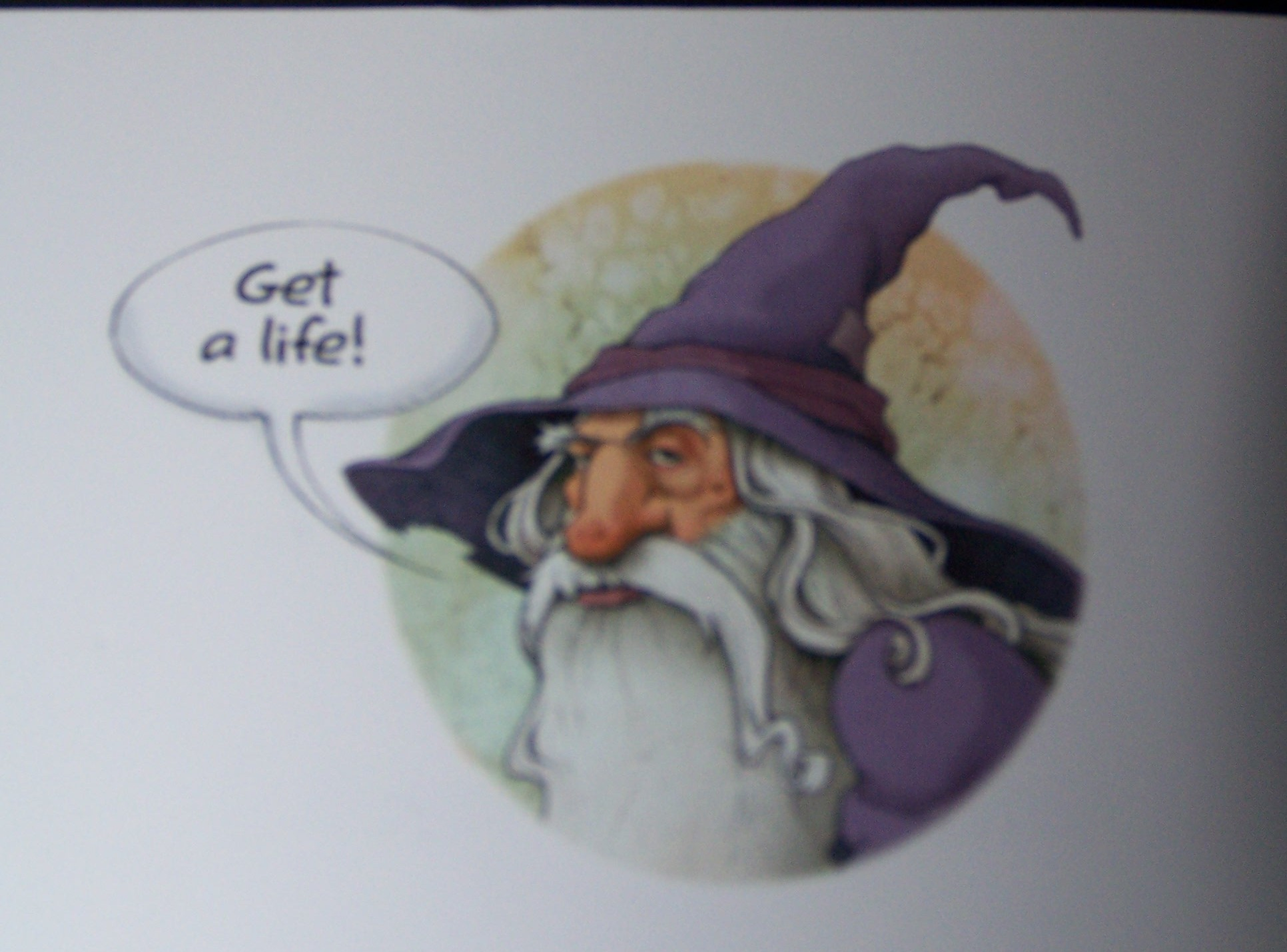 birthday wishes from gandalf card ; gandalf-card-2