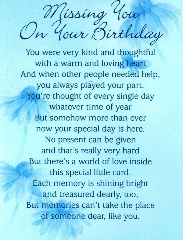 birthday wishes from heaven poem ; birthday-wishes-in-heaven