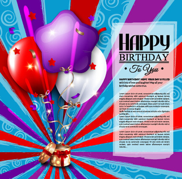 birthday wishes graphics card ; happy_birthday_greeting_card_graphics_vector_582544