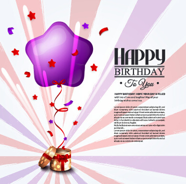 birthday wishes graphics card ; happy_birthday_greeting_card_graphics_vector_582546