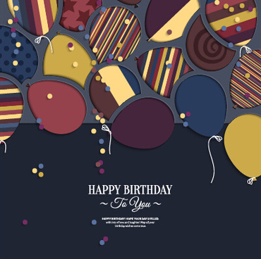 birthday wishes graphics card ; template_birthday_greeting_card_vector_549416