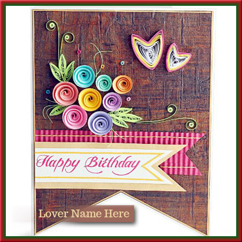 birthday wishes greeting card with name ; ed809ba5f0a60930be8a88350a33279e