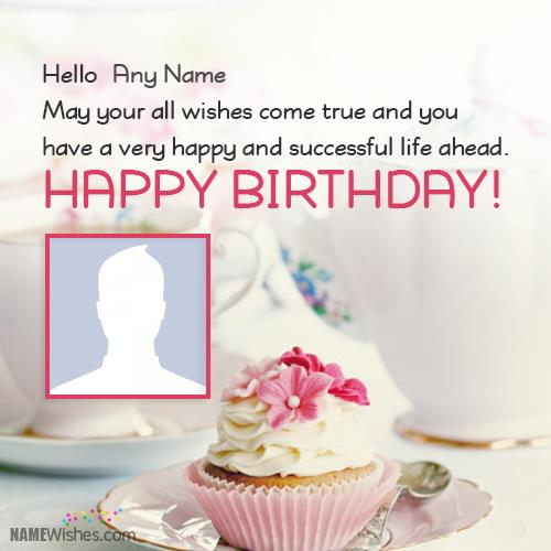 Birthday Wishes Greeting Card With Name Happy Ecards Name6950