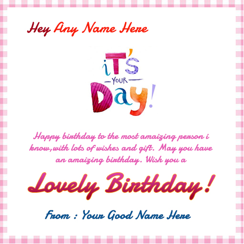 birthday wishes greeting card with name ; its-your-day-birthday-quotes-wishes-with-name