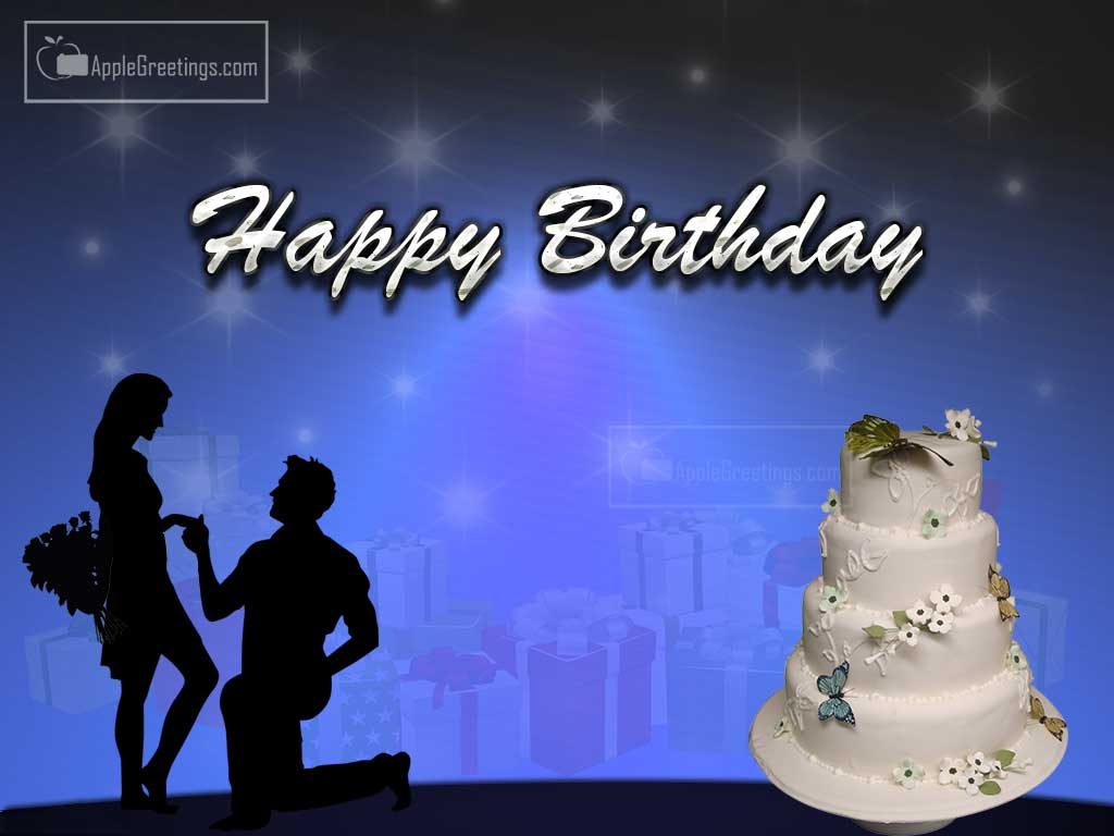 birthday wishes greeting cards ; T-887