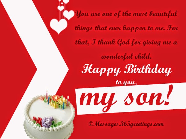 birthday wishes greeting message ; birthday-wishes-greeting-for-son