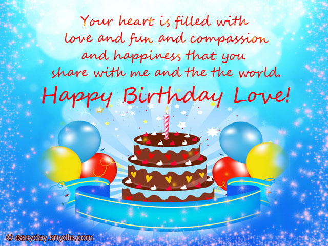 birthday wishes greeting message ; girlfriend-birthday-messages