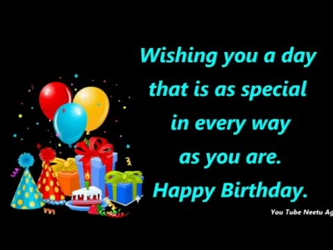 birthday wishes greeting message ; hqdefault