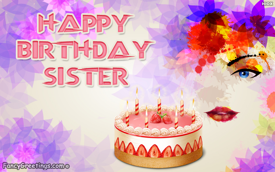 birthday wishes my sister card ; Advance-Birthday-Wishes-For-My-Sister