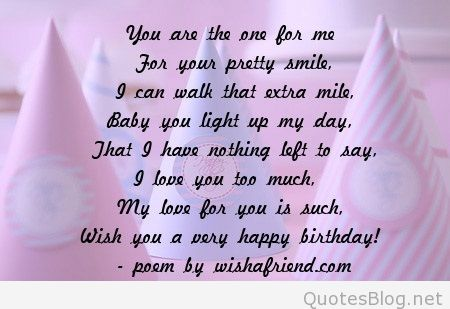 birthday wishes poem ; 2613-girlfriend-birthday-poems