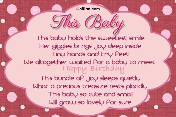 birthday wishes poem ; Nice-Poem-Birthday-Wishes-For-Baby-Girl-Greetings