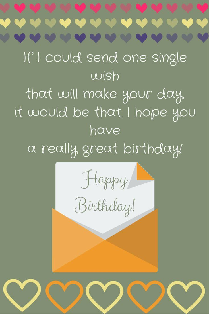 birthday wishes poem ; Poem-If-I-could-send-one-single-wishthat-will