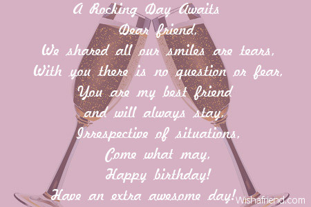 birthday wishes poems for friends ; 2642-friends-birthday-poems