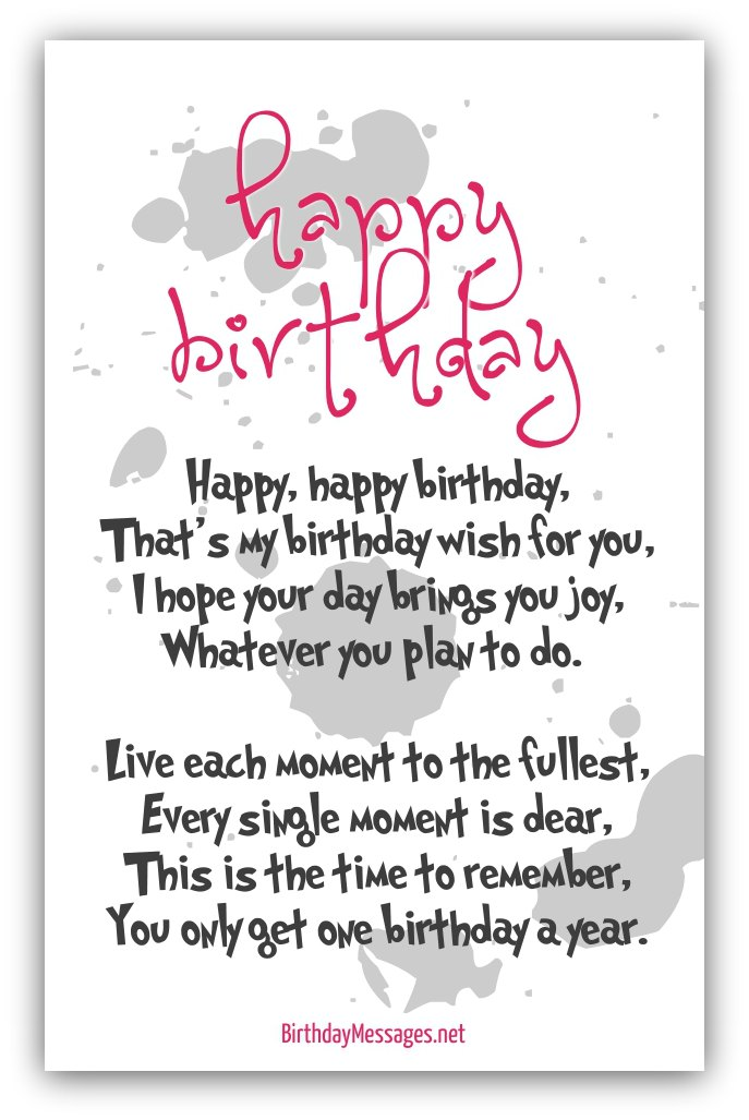 birthday wishes poems for friends ; Happy-Birthday-Poems-and-Wishes-23