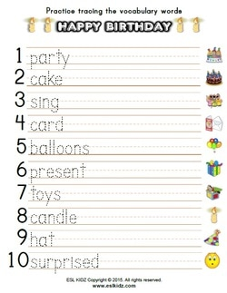 birthday worksheets first grade ; hb-pic3_1