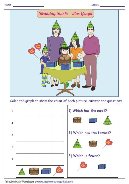 birthday worksheets for preschool ; coloring-large