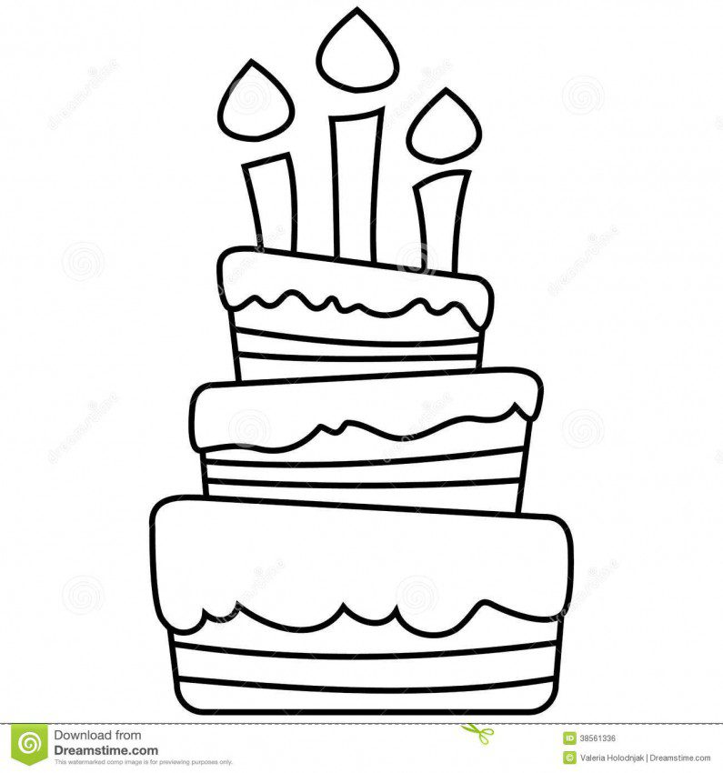 blank birthday cake coloring page ; birthday_cake_coloring_pages_blank-795x850