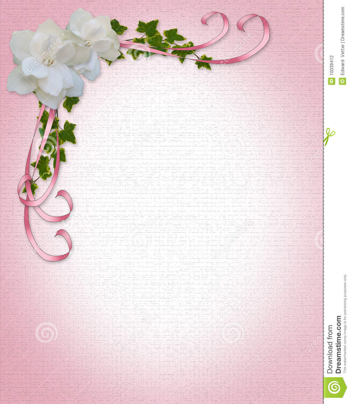 border designs for birthday invitations ; wedding-invitation-border-gardenias-10039412