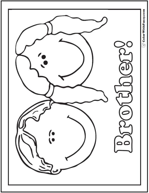 boy birthday coloring pages ; happy-birthday-brother-coloring-pages