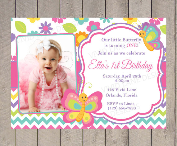 butterfly themed birthday invitation ; c53bc15fb0e53b5ee06d2ad58161dc10