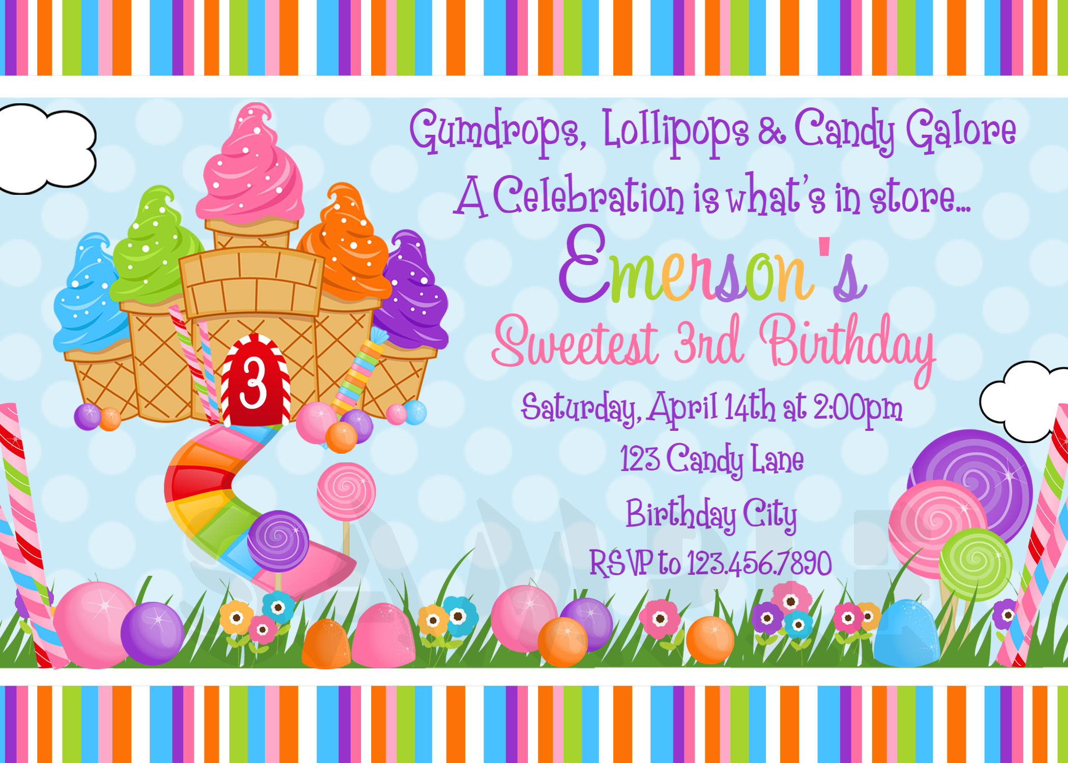 candy themed birthday invitation wording ; candyland-birthday-invitations-to-get-ideas-how-to-make-your-own-Birthday-invitation-design-1
