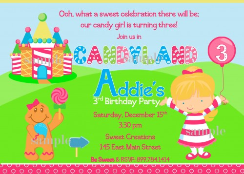 candy themed birthday invitation wording ; candyland_inspired_personalized_birthday_party_invitation_36f5552a
