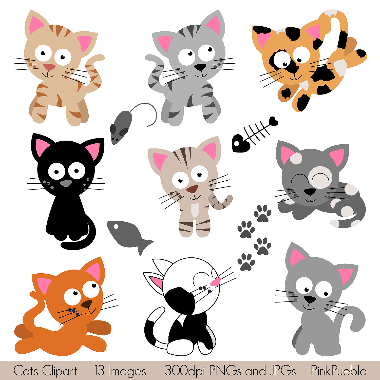 cat birthday clipart ; clip-art-for-petes-sake-clipart-1