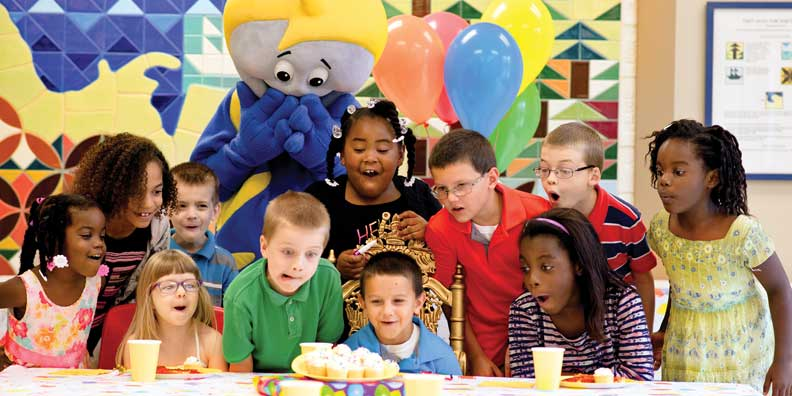 children's birthday activities ; birthday-party-childrens-museum-va