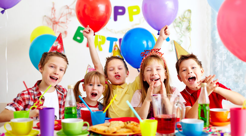 children's birthday activities ; birthday1-812x450