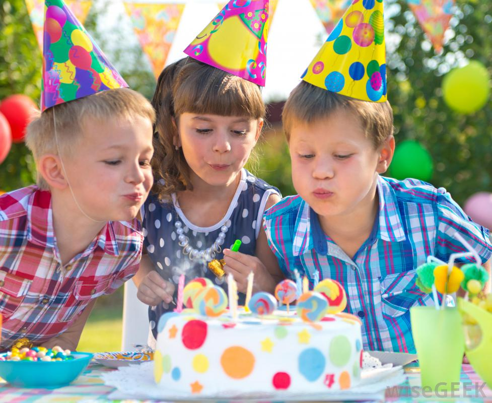 children's birthday activities ; kids-birthday-party