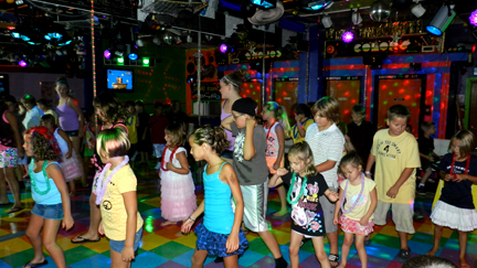 children's birthday party activities ; colors%2520birthday%2520party%2520center%2520dance2